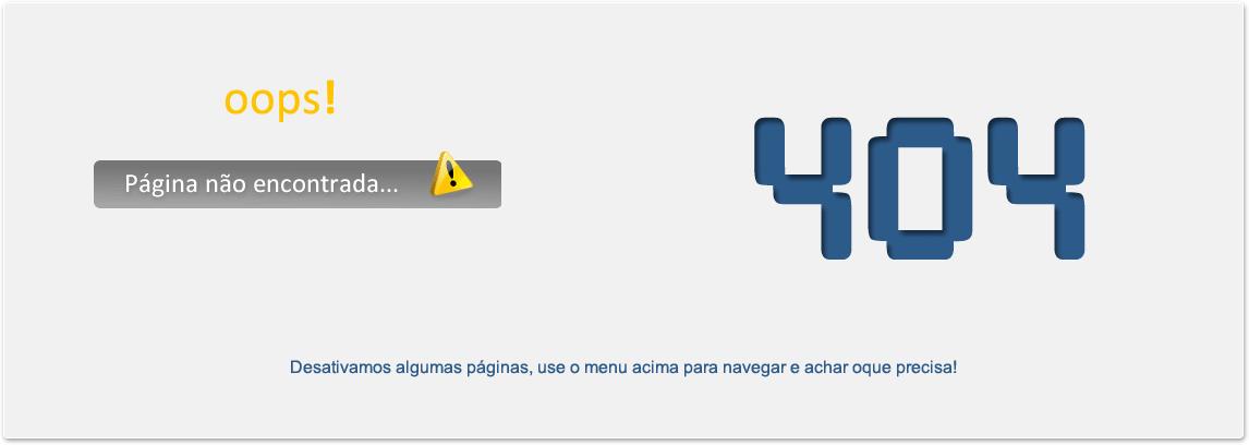 Esta pagina esta perdida, erro 404, tente pelo menu.