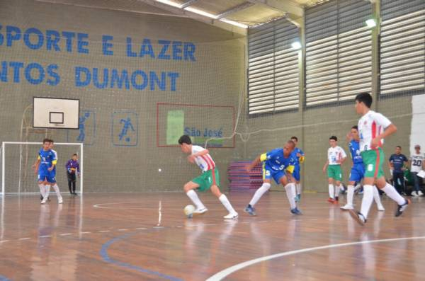 O futsal masculino volta a agitar o Núcleo Santos Dumont neste final de semana (Foto: Ademar Marques/PMSJP)