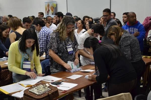 A apuração foi aberta ao público e começou às 18h na Casa do Idoso (Foto: Divulgação/PMSJP)
