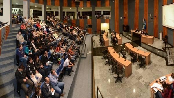 Audiência em 2014 (Foto: PMSJP)