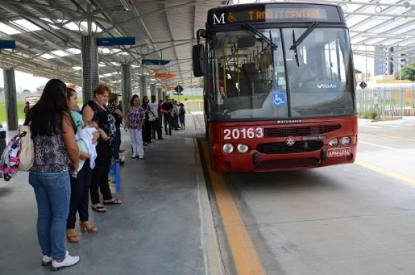 Terminal Central/T.Boqueirão seria uma das linhas com itinerário alterado (Foto: SJP)