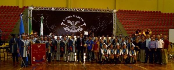 Banda Marcial de São José dos Pinhais se apresenta neste sábado (27)  (Foto: Divulgação/PMSJP)