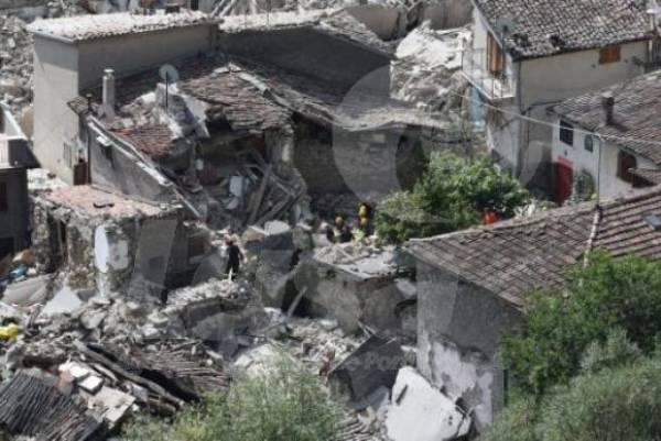 O epicentro do tremor foi registrado a 2 km da cidade de Accumoli, situada a 145 km de Roma, onde o sismo também foi sentido. Foto: EPA/Crocchioni