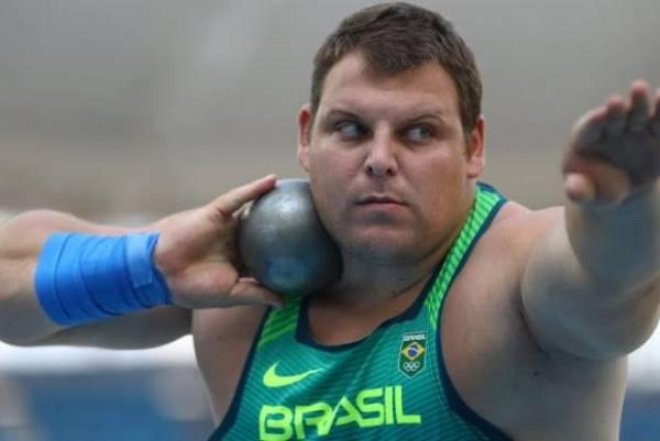 Brasileiro Darlan Romani quebra recorde nacional e vai à final do arremesso de peso. Foto:Reuters/Kai Pfaffenbach/Direitos Reservados