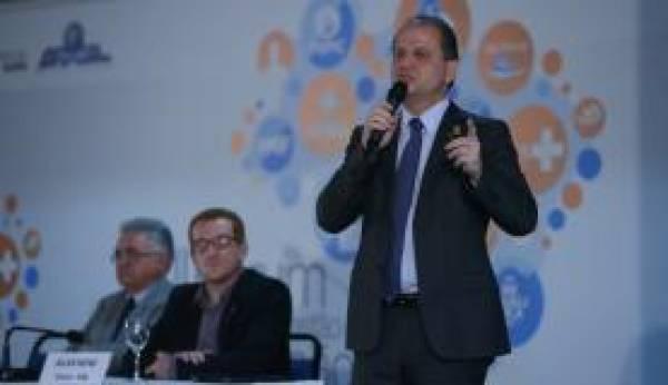 O ministro da Saúde, Ricardo Barros, participa do encerramento do 7º Fórum Nacional de Gestão da Atenção Básica José Cruz/Agência Brasil