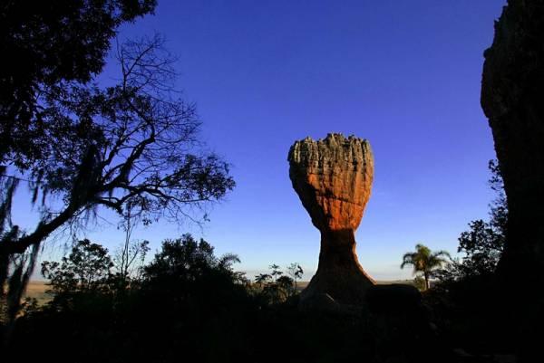Parque Estadual de Vila Velha localizado no município de Ponta Grossa, região dos Campos Gerais.//foto Denis Ferreira Netto.