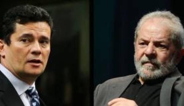 Sérgio Moro e Lula se encontrarão pela primeira vez nesta quarta em Curitiba. Foto: Arquivo/Agência Brasil