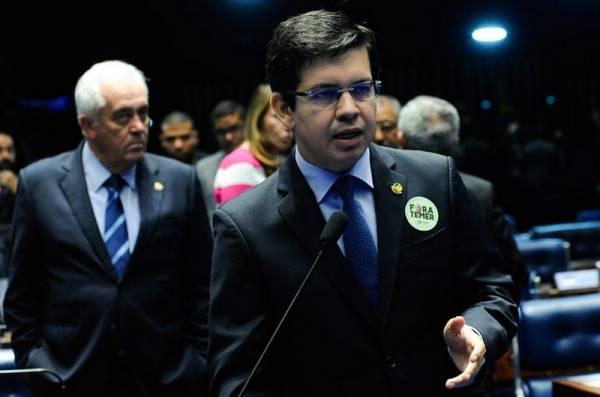 Senador Randolfe Rodrigues (Rede-AP). Foto: Geraldo Magela/Agência Senado
