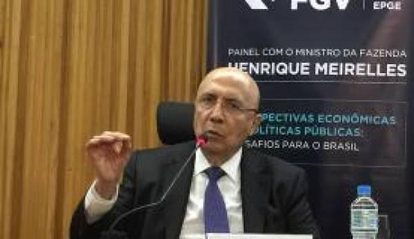 Ministro da Fazenda, Henrique Meirelles. (Foto Cristina Indio do Brasil - Agência Brasil)