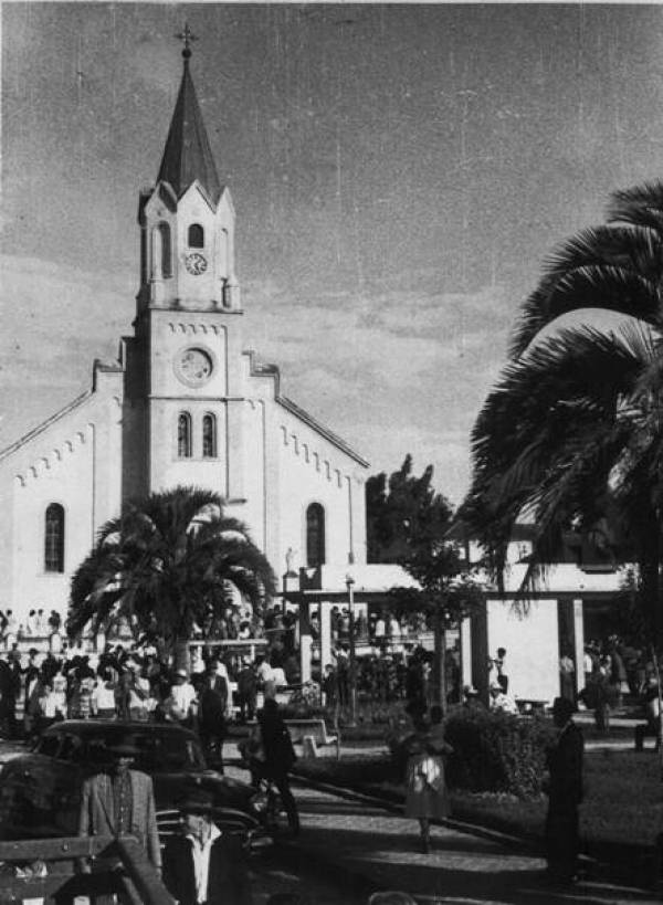 Foto arquivo do Museu Municipal de 1960.