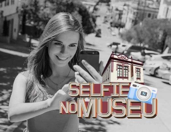 Você pode participar! Basta tirar uma selfie no Museu e postar nas redes sociais com a hashtag Museum Selfie — #MuseumSelfie (Foto: Divulgação/PMSJP).