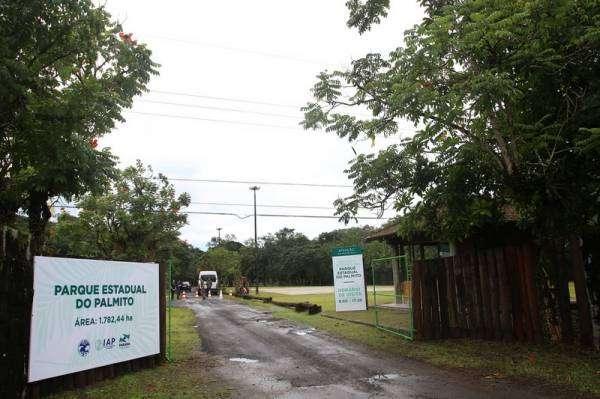 O Parque Estadual do Palmito, em Paranaguá, é uma excelente opção de lazer para veranistas e moradores do Litoral do Paraná. Com 1,78 mil hectares o local cumpre a função de combater a exploração ilegal e predatória de palmito nativo, garantir a conservação de um importante remanescente de Floresta Atlântica Nativa e proporcionar uma opção de lazer à população.-.Foto: Jaelson Lucas/ANPr