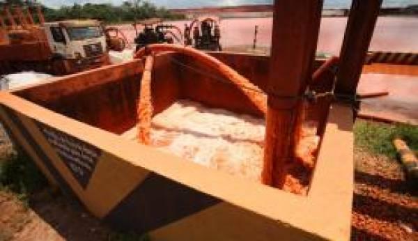 A mineradora disse que, antes de ser liberadaa água foi tratada segundo critérios estabelecidos pelo Conama. Foto: Arquivo/Agência Pará
