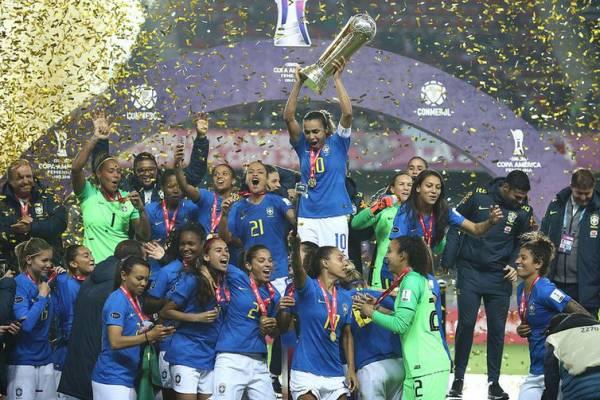 O resultado garantiu ao Brasil vagas nas Olimpíadas de 2020, no Japão, e na Copa do Mundo 2019, na França. - Direitos reservados/CBF