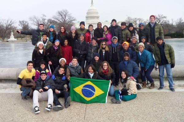 Jovens Embaixadores_Larissa Moreira/Divulgação Embaixada EUA/Direitos Reservados