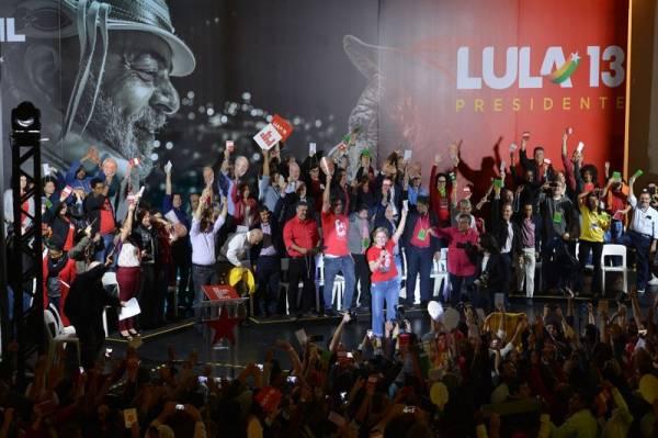 Convenção Nacional do PT para lançamento da candidatura de Lula para presidente, na Casa de Portugal. Foto: Rovena Rosa/Agência Brasil