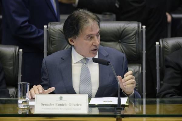 O presidente do Senado, Eunício Oliveira - Pedro França/Agência Senado