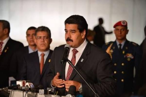 Para Maduro, assessor preso faz parte de
