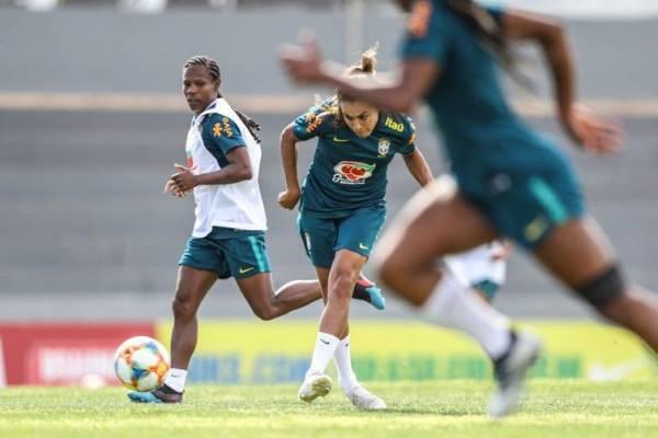 A preparação da seleção brasileira em Portugal vai até o dia 5 de junho - Divulgação Confederação Brasileira de Futebol - CBF