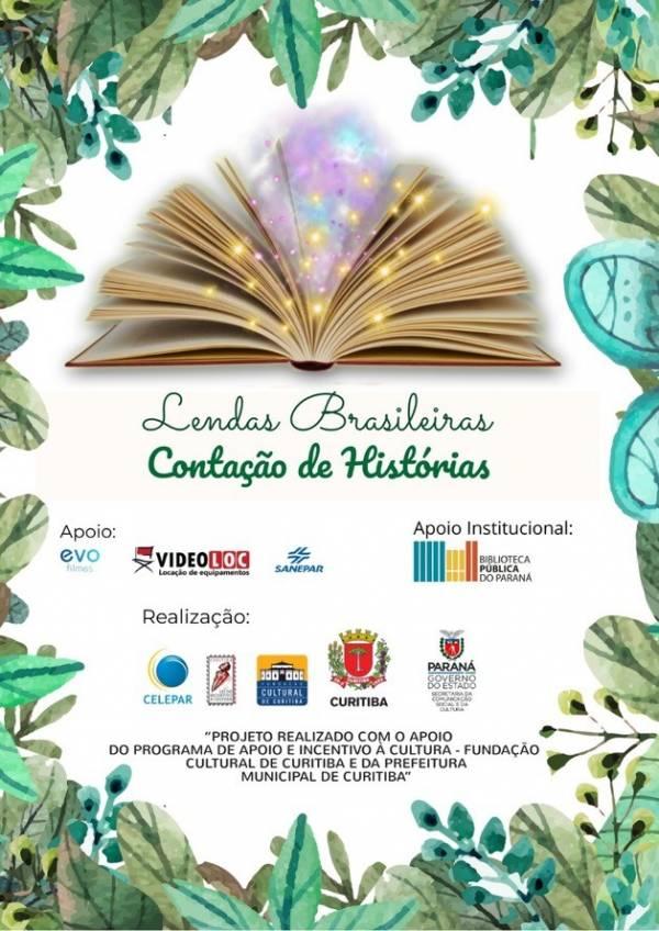 Biblioteca recebe apresentações do projeto Lendas Brasileiras