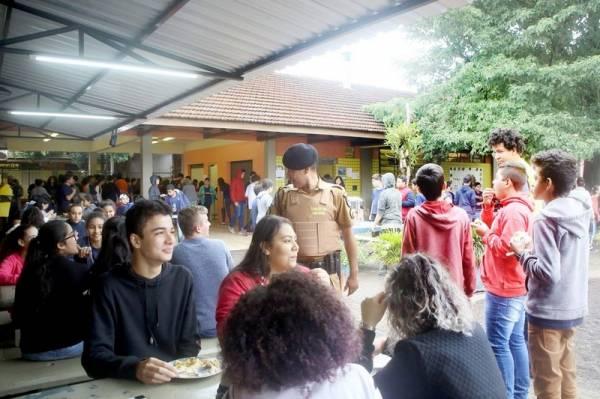 Governo implanta Escola Segura na Região Metropolitana de Curitiba. Foto: Jaelson Lucas/AEN