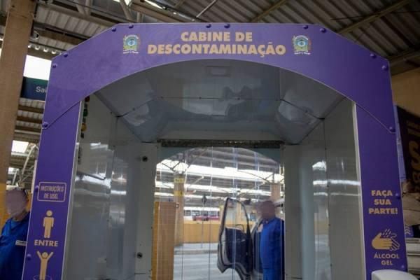 Câmara de descontaminação em SJP