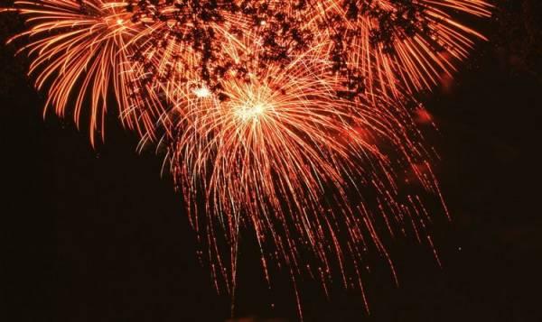 Fogos de artifício em SJP