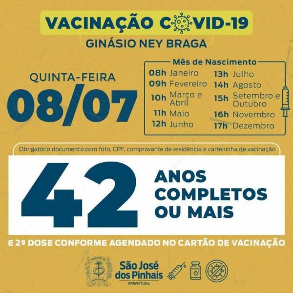Imagem: Prefeitura de São José dos Pinhais